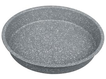 Форма для выпечки 32*4,5см (круг) с мраморным покрытием