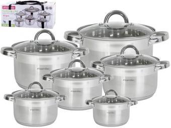 Набор посуды 6пр нерж 5640S