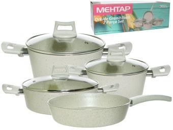 Набор посуды 3пр (2,5л, 3,9л, 4,5л, сковорода б/кр 26см)