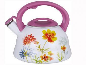 Чайник 2.8л эмаль Полевые цветы