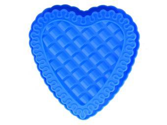 Форма силиконовая 23*21см Сердце ажурное