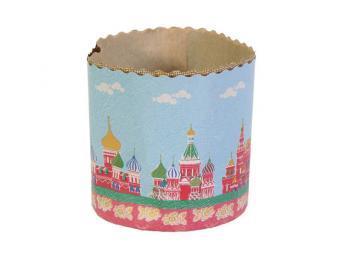 Набор бумажных форм для куличей Пасхальный 70*85 м