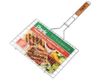 Решетка для барбекю плоская 35*25*1,5см