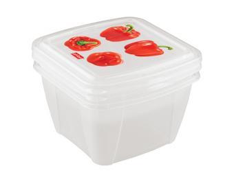 Набор контейнеров Fresco 2 шт для СВЧ и холодильни