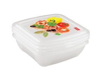 Набор контейнеров Fresco 0,5л 3шт для СВЧ и холодильника