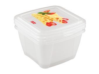 Набор контейнеров Fresco 1л 2шт для холодильника и