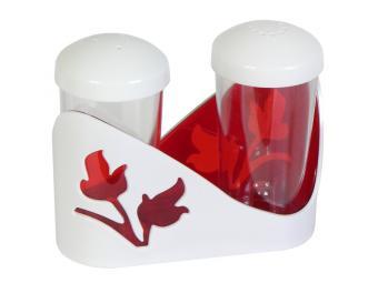 Набор для специй Viola красный полупрозрачный