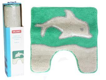 Коврик Дельфин зеленый 45*45см