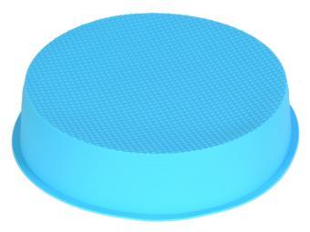 Форма для выпечки силиконовая Круг 25*5,8см глубокий