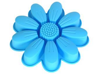 Форма для выпечки пирожных силиконовая Цветок 26,5*4,5см