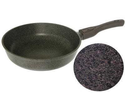 Сковорода 26см индукционная со съемной ручкой Коричневая БИОЛ