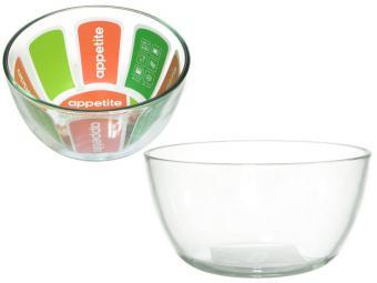 Миска стеклянная 0,45л тм Appetite