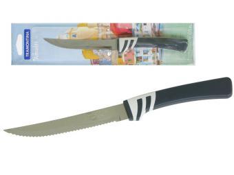 Нож для стейков 12,5см с зубцами Tramontina Amalfi блистер