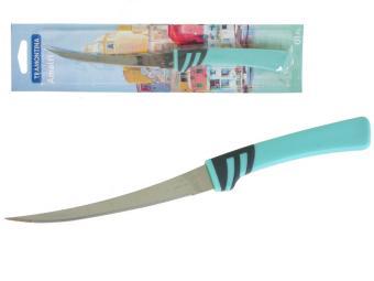 Нож для томатов 12,5см Tramontina Amalfi блистер бирюза