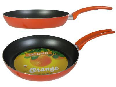 Сковорода 24см Citrus Orange Scovo