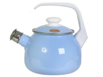 Чайник 2,5л со свистком ЛАЗУРИТ