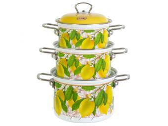 Набор кастрюль ''Lemon''