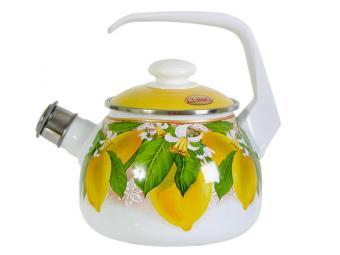 Чайник 2,5л со свистком Lemon