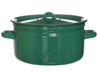 Кастрюля 5,5л Зеленый гранит