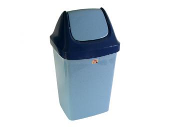 Контейнер для мусора 9л СВИНГ с подвижной крышкой