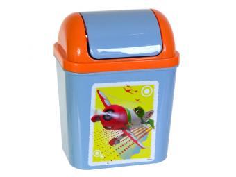 Контейнер для мусора 0,8л Disney Тачки, Самолеты