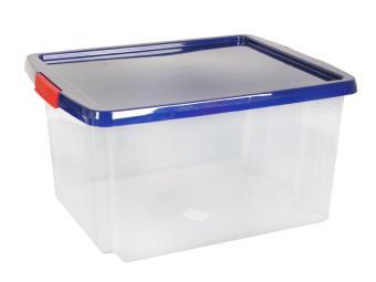 Ящик хозяйственный 30л прозрачный