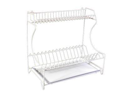 Сушка универсальная для посуды с поддоном с покрыт