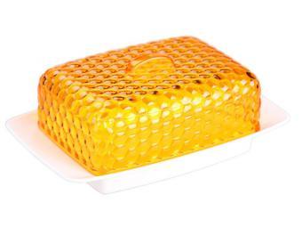 Масленка ''Мозаика'' (бело-оранжевый)
