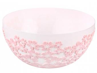 Салатник 1,2л ''Бархат'' круглый без крышки (розовый)