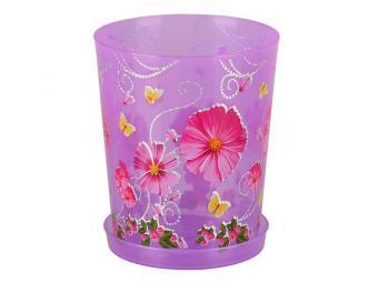 Горшок для орхидей Камилла 1,2л фиолет