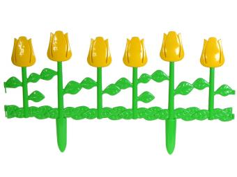 Ограждение Цветник №1 62*29см 6шт