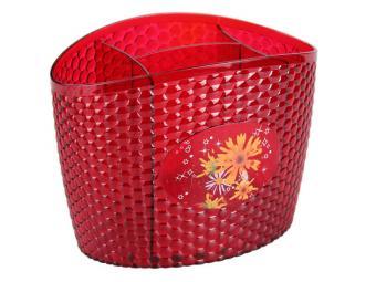 Сушилка для столовых приборов Мозаика красная