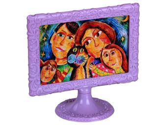 Рамка для фото 10*15 Ажур фиолет