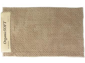 Коврик Органик Софт 50*80см бежевый (1500гр)