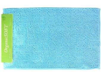 Коврик Органик Софт 50*80см голубой (1000гр)