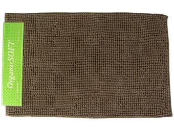 Коврик Органик Софт 50*80см коричневый (1000гр)