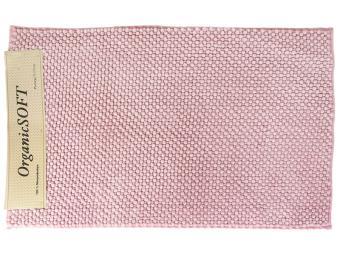 Коврик Органик Софт 50*80см розовый (1500гр)