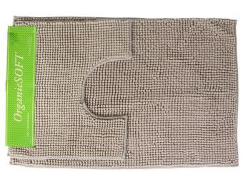 Коврик Органик Софт 60-100+50*60см кремовый (1000гр)