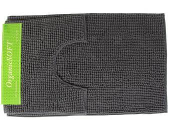 Коврик Органик Софт 50*80+45*40см темно-серый (1000гр)