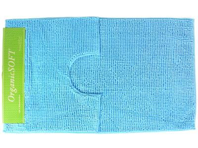Коврик Органик Софт 60*100+50*60см голубой (1000гр)