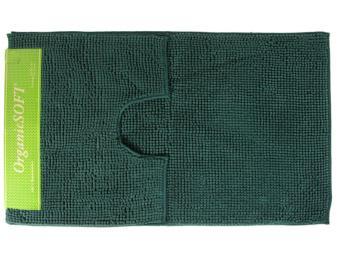 Коврик Органик Софт 60*100+50*60см темно-зеленый (1000гр)