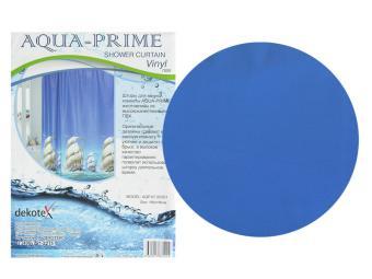 Штора для ванной Парусник AQUA-PRIME 180*180см