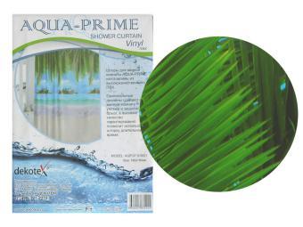 Штора для ванной Пальмы на песке AQUA-PRIME 180*18