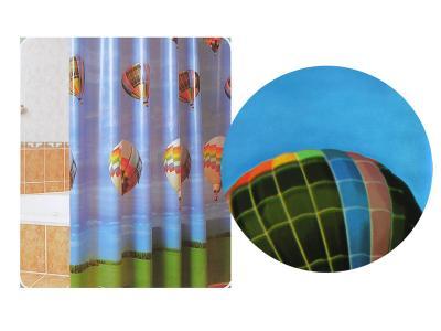 Штора для ванной Воздушный шар 180*180см