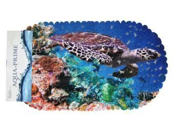 Коврик в ванну AQUA-PRIME 69*39 Черепаха
