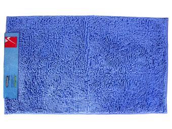 Коврик HomeMat Moss-Макароны 1шт 60*100 синий