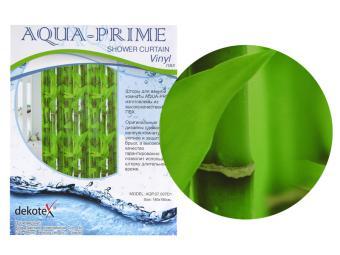 Штора для ванной AQUA-PRIME 180*180 Бамбук