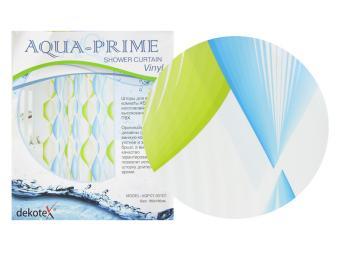 Штора для ванной Волны AQUA-PRIME 180*180