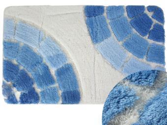 Коврик BANYOLIN SOFT PILE 60*100см 1шт Керамик (голубой)