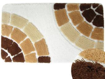 Коврик BANYOLIN SOFT PILE 60*100см 1шт Керамик (коричневый)